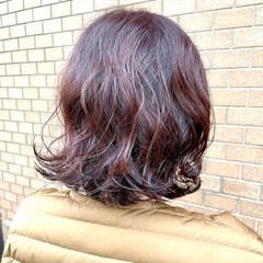 無造作パーマ ナチュラル パーマボブ ボブ ヘアスタイルや髪型の写真・画像