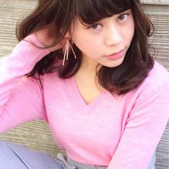 小顔 大人女子 ガーリー 大人かわいい ヘアスタイルや髪型の写真・画像