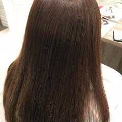 ロング 髪質改善トリートメント ナチュラル 縮毛矯正 ヘアスタイルや髪型の写真・画像