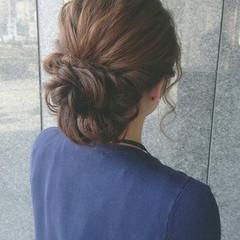 ゆるふわ ショート ヘアアレンジ 簡単ヘアアレンジ ヘアスタイルや髪型の写真・画像