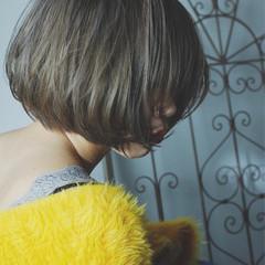 モード ボブ ニュアンス 愛され ヘアスタイルや髪型の写真・画像