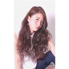 ロング 夏 ウェーブ 春 ヘアスタイルや髪型の写真・画像