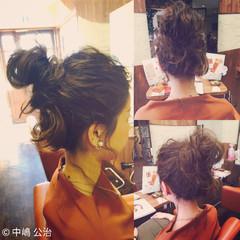簡単ヘアアレンジ ショート 大人かわいい ヘアアレンジ ヘアスタイルや髪型の写真・画像
