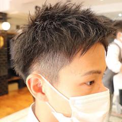 メンズカット ショート メンズショート メンズヘア ヘアスタイルや髪型の写真・画像