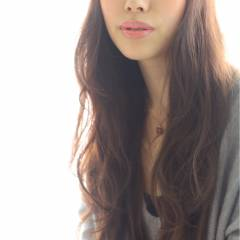 大人かわいい コンサバ モテ髪 ロング ヘアスタイルや髪型の写真・画像