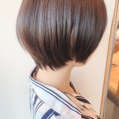 ナチュラル ショートヘア ベリーショート 黒髪ショート ヘアスタイルや髪型の写真・画像