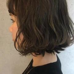 ナチュラル アンニュイ ボブ 大人かわいい ヘアスタイルや髪型の写真・画像