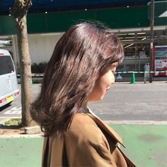 ロング ミルクティーベージュ ヌーディーベージュ シアーベージュ ヘアスタイルや髪型の写真・画像