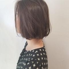 ボブ リラックス ショート かわいい ヘアスタイルや髪型の写真・画像