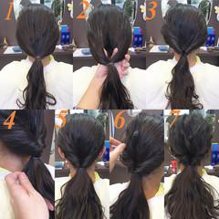ショート 簡単ヘアアレンジ 謝恩会 ヘアアレンジ ヘアスタイルや髪型の写真・画像