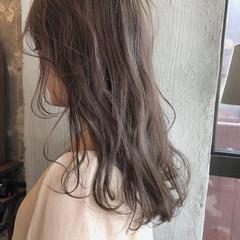 透明感 外国人風カラー 前髪あり ナチュラル ヘアスタイルや髪型の写真・画像
