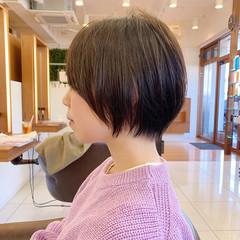 ショートヘア ふんわり ナチュラル ヘアスタイルや髪型の写真・画像