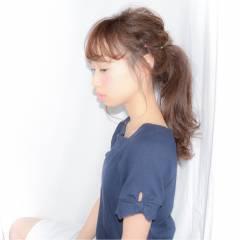 モテ髪 ナチュラル 愛され ヘアアレンジ ヘアスタイルや髪型の写真・画像