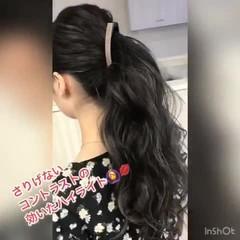 外国人風カラー ハイライト グレージュ バレイヤージュ ヘアスタイルや髪型の写真・画像