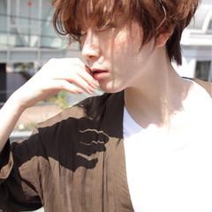 アッシュ ショート ナチュラル エフォートレス ヘアスタイルや髪型の写真・画像