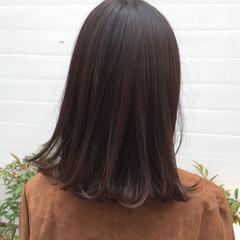 デート オフィス パーマ 透明感 ヘアスタイルや髪型の写真・画像
