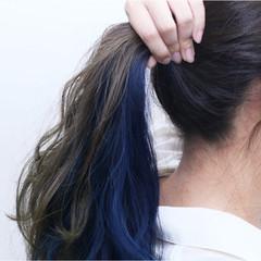 ストリート グラデーションカラー ブリーチ ダブルカラー ヘアスタイルや髪型の写真・画像