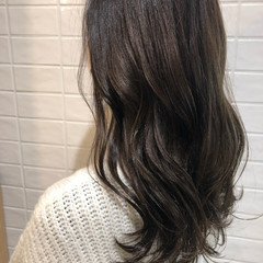 トリートメント ナチュラル 髪質改善 セミロング ヘアスタイルや髪型の写真・画像