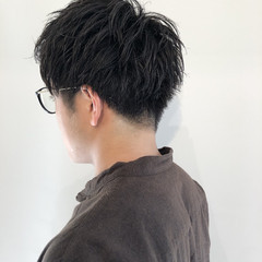 メンズマッシュ メンズヘア メンズ 黒髪 ヘアスタイルや髪型の写真・画像