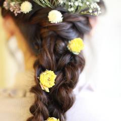 ヘアアレンジ 大人かわいい 結婚式 パーティ ヘアスタイルや髪型の写真・画像