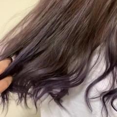 外国人風カラー デート ハイライト グラデーションカラー ヘアスタイルや髪型の写真・画像