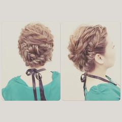 ロング ヘアアレンジ 波ウェーブ ゆるふわ ヘアスタイルや髪型の写真・画像