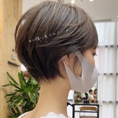 ショートボブ ミニボブ ベリーショート ショート ヘアスタイルや髪型の写真・画像