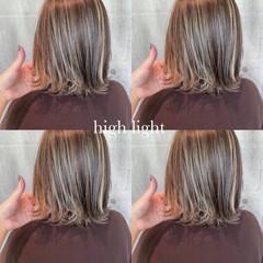 ストリート 大人ハイライト 3Dハイライト コントラストハイライト ヘアスタイルや髪型の写真・画像
