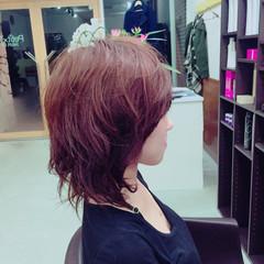 大人女子 春 小顔 ニュアンス ヘアスタイルや髪型の写真・画像
