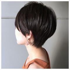 ベリーショート 大人カジュアル ショートヘア ショート ヘアスタイルや髪型の写真・画像
