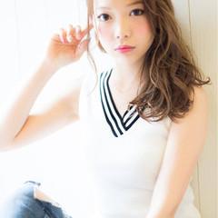 ブラウン ナチュラル 渋谷系 パーマ ヘアスタイルや髪型の写真・画像