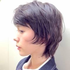 外国人風 ストリート ウルフカット ナチュラル ヘアスタイルや髪型の写真・画像