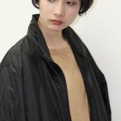 ストリート パーマ 暗髪 レイヤーカット ヘアスタイルや髪型の写真・画像