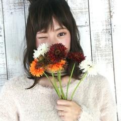 大人女子 ミディアム ハーフアップ 簡単ヘアアレンジ ヘアスタイルや髪型の写真・画像