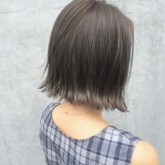 グラデーションカラー 外国人風 ハイライト ストリート ヘアスタイルや髪型の写真・画像