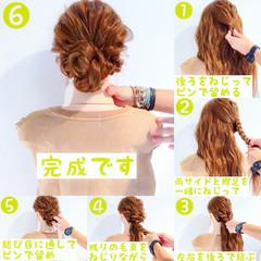 涼しげ ロング フェミニン ヘアアレンジ ヘアスタイルや髪型の写真・画像