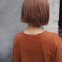 モード 透明感 ブリーチ ボブ ヘアスタイルや髪型の写真・画像