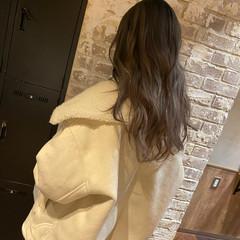 ブリーチ 外国人風 ベージュ ロング ヘアスタイルや髪型の写真・画像