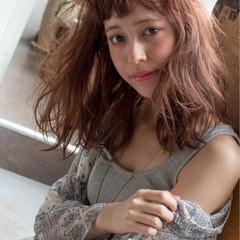 巻き髪 パーマ ストリート ゆるふわ ヘアスタイルや髪型の写真・画像