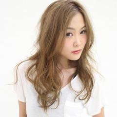 ロング フェミニン 大人かわいい かっこいい ヘアスタイルや髪型の写真・画像