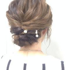 ショート ルーズ ゆるふわ モテ髪 ヘアスタイルや髪型の写真・画像