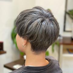 ヘアカラー ハイトーンカラー ブリーチカラー ダブルカラー ヘアスタイルや髪型の写真・画像