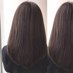 外国人風 ロング ハイライト グレージュ ヘアスタイルや髪型の写真・画像