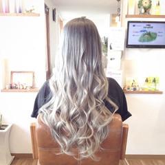 メッシュ バレイヤージュ 成人式 外国人風カラー ヘアスタイルや髪型の写真・画像