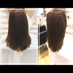 上品 艶髪 ロング トリートメント ヘアスタイルや髪型の写真・画像