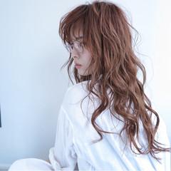 ロング ストリート 外国人風 透明感 ヘアスタイルや髪型の写真・画像