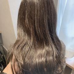 ロング 透明感カラー 大人可愛い アンニュイほつれヘア ヘアスタイルや髪型の写真・画像