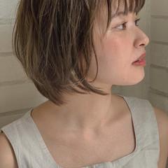 ナチュラル グレージュ 透明感カラー 外国人風カラー ヘアスタイルや髪型の写真・画像