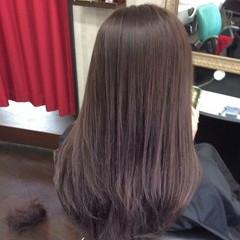 ラベンダーアッシュ セミロング ラベンダー ヘアカラー ヘアスタイルや髪型の写真・画像