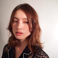 ナチュラル フェミニン ミディアム 外国人風 ヘアスタイルや髪型の写真・画像